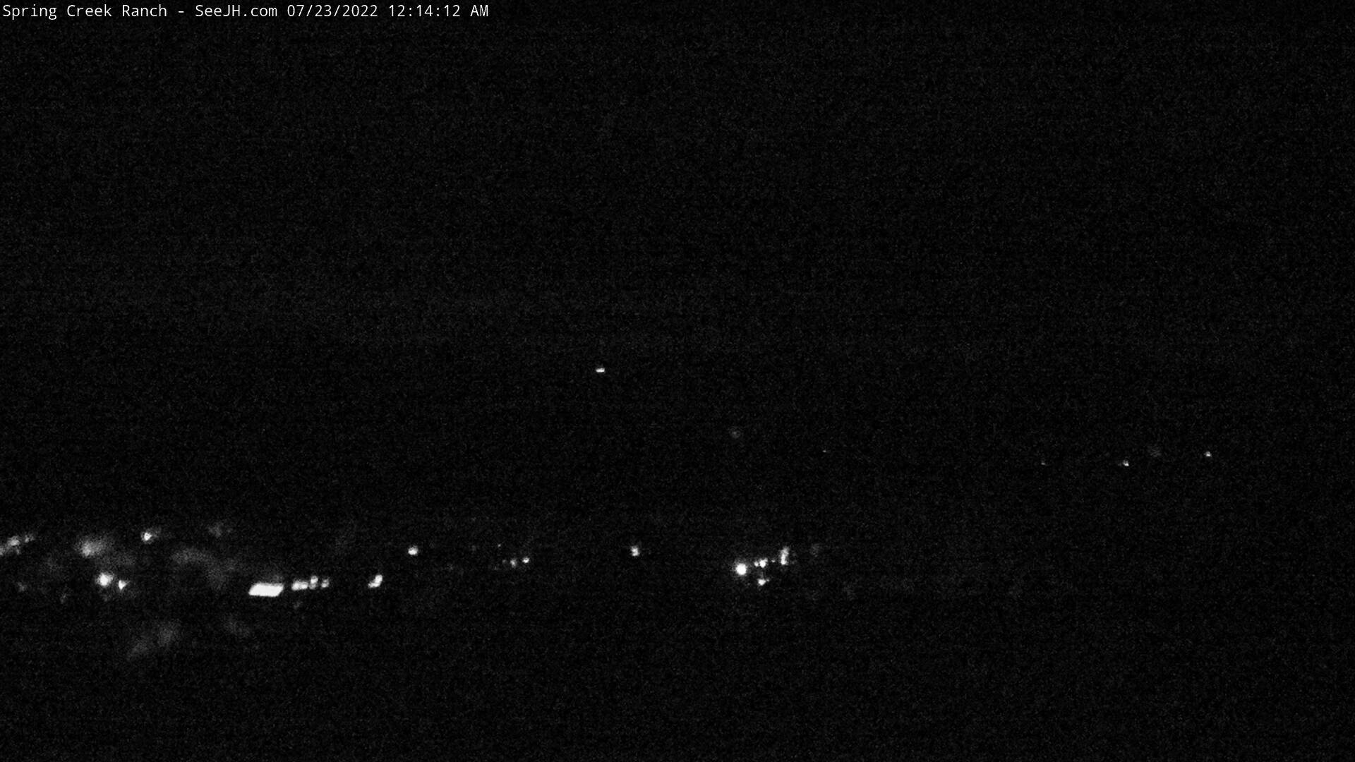 Grand Tetons Spring Creek Ranch Webcam Image